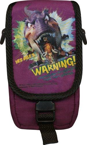 "J-Straps ""Ice Age 3 Warning"" Starter Kit for Nintendo DSi/DS Lite - cajas de video juegos y accesorios (Púrpura) Purple"