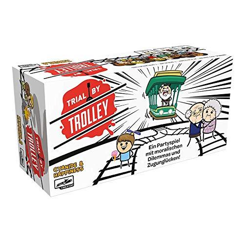 Asmodee Trial by Trolley, Partyspiel, Kartenspiel, Deutsch