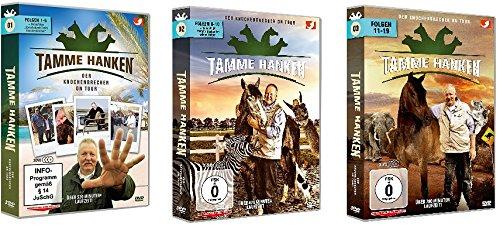 Tamme Hanken - Der Knochenbrecher on Tour - Box 1+2+3 (Folge 1-19) im Set - Deutsche Originalware [9 DVDs]