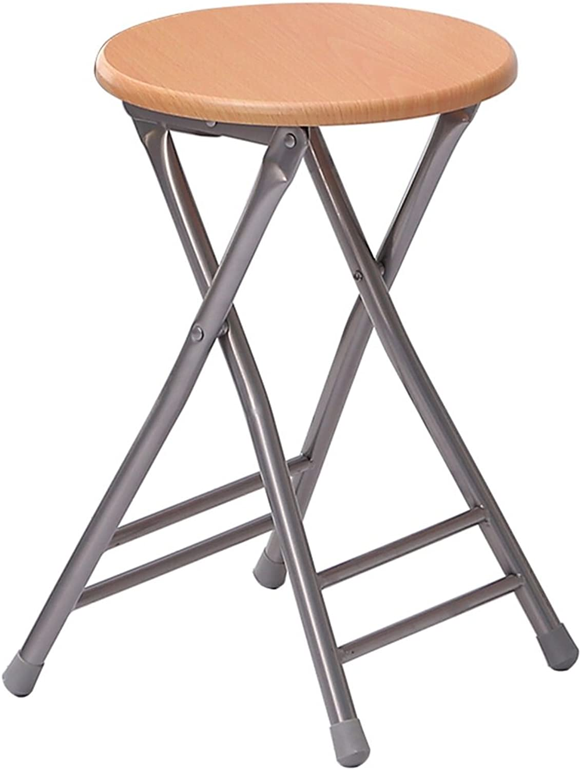 Folding Stool Home Leisure Meal Stool (color   Yellow)