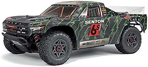 ARRMA 1 10 SENTON 6S BLX 4WD Brushless Short Course RTR, schwarz Grün
