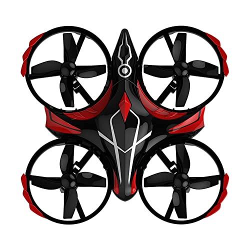 OUYBO Mini UFO H56. Tiny Whoop Drone 2. 4G RC 4. CH del telecomando Helicopter Altitudine Hold Infraring Sensing 300mAh Lipo Battery Giocattoli Accessori per batterie di parti RC (Color : Black)