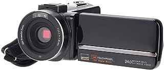 Topiky Videocámara FHD DV cámara de grabación de Video Digital 1080P 24MP Zoom Digital 16X con Control Remoto función de visión Nocturna por Infrarrojos y función de micrófono Externo(UE)