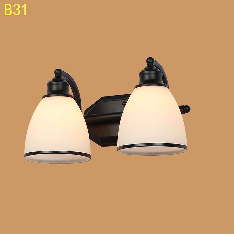 Europische Retro Eisen Wand Lampe Wohnzimmer Schlafzimmer Nachttisch Lampe Spiegel Vorderes Licht Gang Treppenhaus Lampe (Farbe    3)