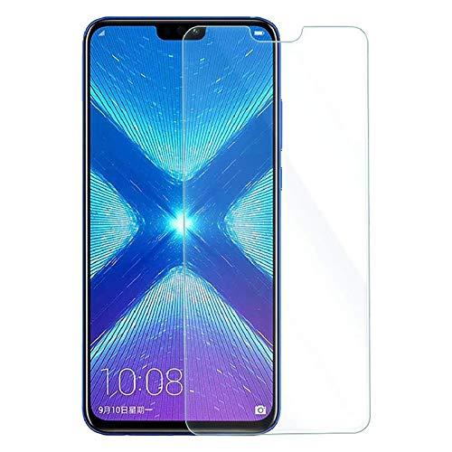 MB ACCESORIOS Protector de Pantalla, Cristal Templado con Pegamento Completo para Huawei Honor 8X