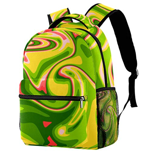 Rich Vegetable Soup Backpack School Bag Bookbag Hiking Travel Rucksack