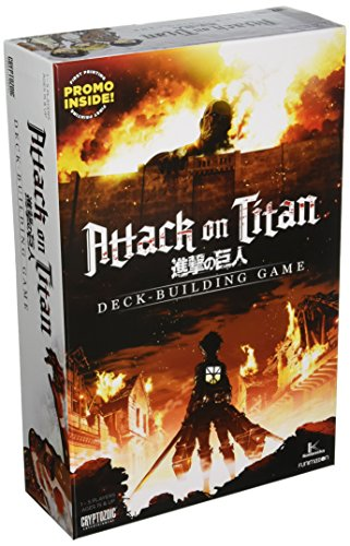 Unbekannt Cryptozoic Entertainment CRY02186 Brettspiel Attack on Titan Deckbuilding Game