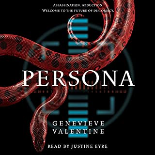 Persona audiobook cover art
