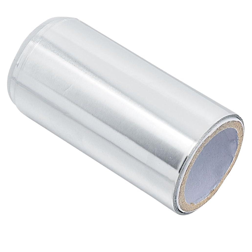 トースト年金受給者肌Baosity アルミニウム マニキュア錫箔紙 ネイルアート ヘア/ネイル用 クリーナーツール ジェル除却 ヘアパーマ 5m