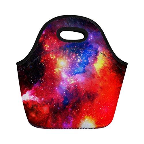Coloranimal Universe Galaxy en néoprène Sac à déjeuner Boîte Boîte à lunch isotherme Coque, femme, universe galaxy-5