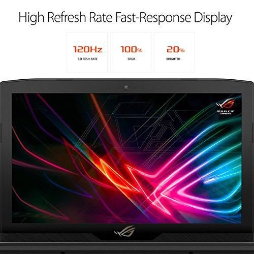 ASUS ROG Strix Hero Edition 15.6in Gaming Laptop, 8th-Gen 6-Core Intel Core i7-8750H processor GTX 1050 Ti 4GB 16GB DDR4, 128GB PCIe SSD + 1TB FireCuda, GL503GE-ES73 (Renewed)