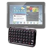 DURAGADGET Clavier Mini Bluetooth sans Fil pour Tablette Samsung Galaxy Note 10.1 (N8000, N8010,...