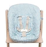 Blausberg Baby - Stokke Tripp Trapp Newborn Textiles Set Housse - Žcailles bleu clair