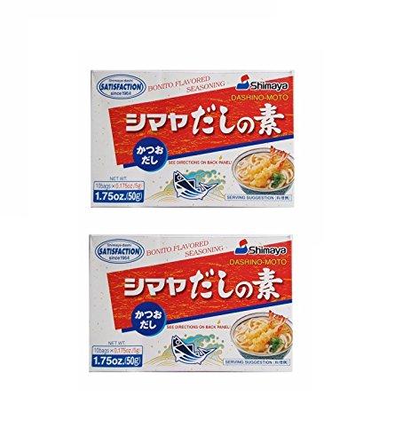 Pamai Pai® Doppelpack: 2 x 50g Dashino Moto Würzmittel für Miso Suppe Dashi