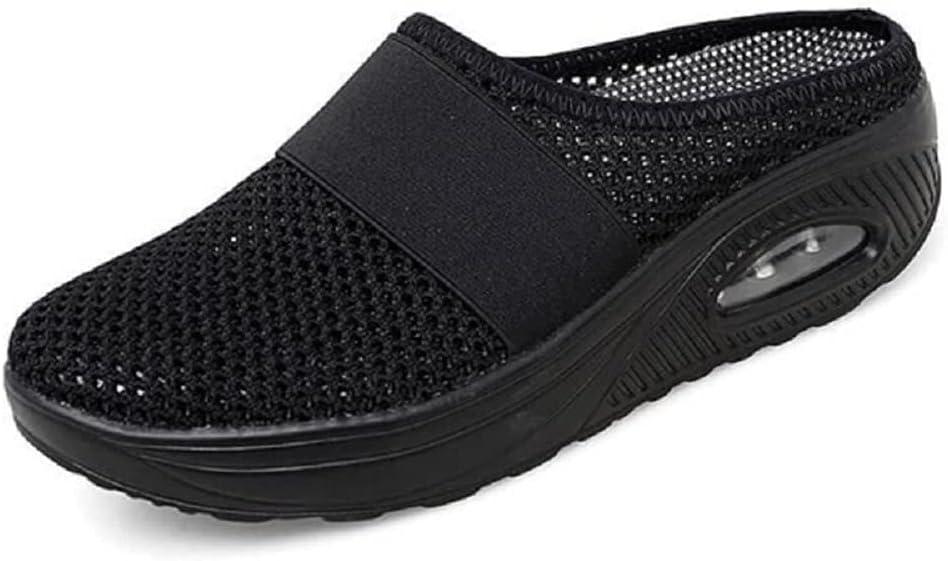 OYNAN Air Cushion Slip-On Walking Shoes Orthopedic Diabetic Walking Shoes for Womens