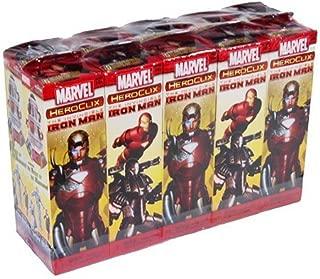 Marvel HeroClix: Invincible Iron Man Booster Brick (10) by WizKids