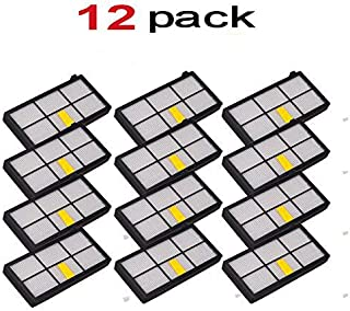VOVO 12 pack HEPA Filter filters For iRobot Roomba 800 900 series 860 870 871 880 960 980 Vacuum Cleaning Robots Brand New