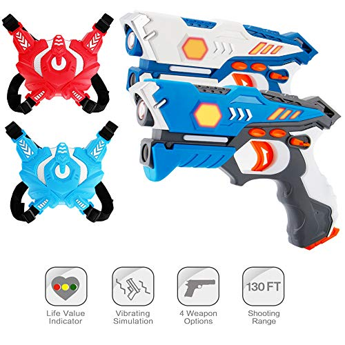 ComTec Laser Tag for Kids, Laser Tag Sets with Gun...