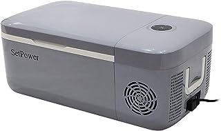 Setpower FC12 13.5 Quarts Portable Freezer Fridge 12V Cooler, 0℉-50℉, DC 12/24V, Car Fridge Compact Refrigerator, for Truc...
