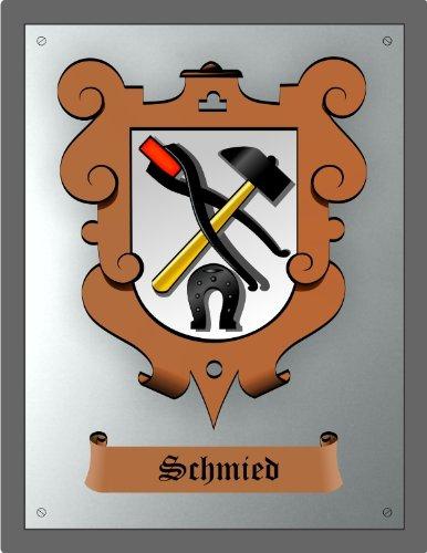 Zunftschild Schmied (36 x 28 cm)