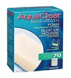 Aqua Clear 70 Foam, White (A618)