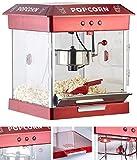 Rosenstein & Söhne Popcornmaker: Profi-Gastro-Popcorn-Maschine mit Edelstahl-Topf, 800 Watt (Retro-Popcorn-Maschinen)