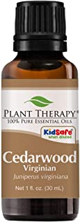 Plant Therapy Cedarwood Virginian Essential Oil 30 mL (1 oz) 100% Pure, Undiluted, Therapeutic Grade