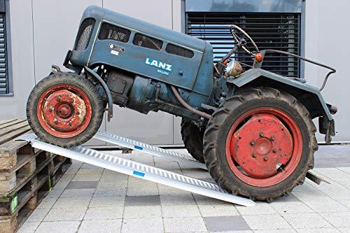 2x TrutzHolm® ALU Auffahrrampe 200 cm 2000kg/Paar Verlade Rampe Auto Verladerampen