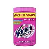 Vanish Oxi Action Pulver Pink – Fleckentferner Pulver ohne Chlor – Entfernt Flecken, pflegt Farben & entfernt Gerüche – Für bunte Wäsche – 1 x 1650 g