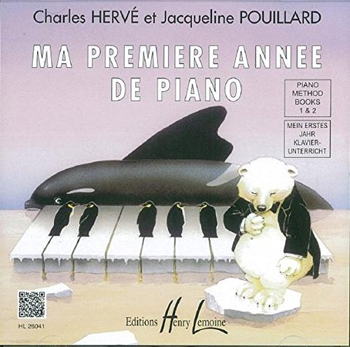 Herve/Pouillard Mein Erstes Jahr Klavierunterricht Pf Cd Only (French/English/German)