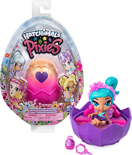 Hatchimals Pixies, 2.5-Inch Collectible Doll and Accessories (Styles May Vary), for Kids Aged 5 and up
