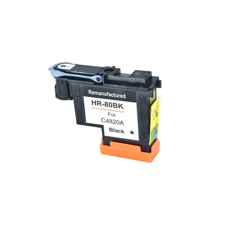 Komada para HP80 Cabezal de impresión Negro Compatible para HP ...