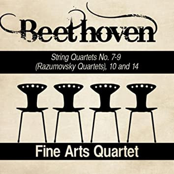 Beethoven: String Quartets No. 7-9 (Razumovsky Quartets), 10 and 14