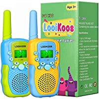 Looikoos 22-Channels 2 Way Radio Walkie Talkies for Kids
