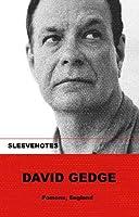 Sleevenotes: David Gedge