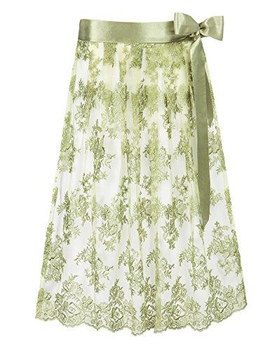 Stockerpoint Damen Schürze SC-230 Dirndlschürze, Grün (grün), 2 (Herstellergröße: 2-40-44)