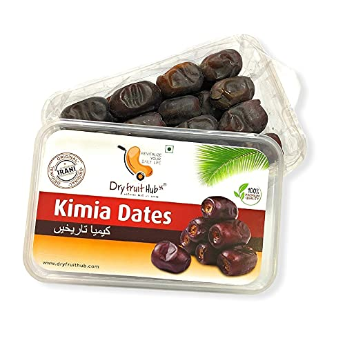 Dry Fruit Hub Soft Dates 400gms Mazafati Dates, Kimia Dates, Fresh Juicy Dates