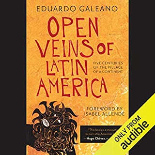 Open Veins of Latin America audiobook cover art