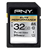 PNY Elite Performance 32GB SD Card UHS-I