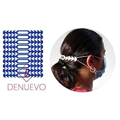 Protector para las Orejas de las Gomas, Salvaorejas Azul, Gancho, Salva,Sujeta (Pack 10 unidades) Nuevo Material mas…