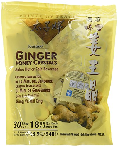 Prince of Peace Ginger Honey Crystals 18gX30 Packets540g