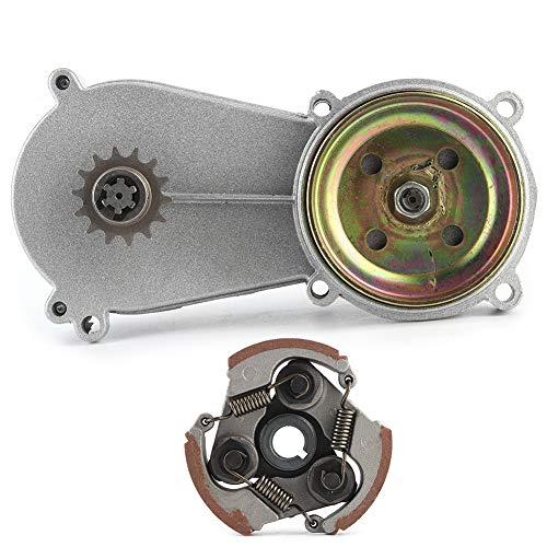 Getriebegehäusesatz, Stahllegierung 14T Trommelgehäuse Getriebekupplungssatz, passend für 47ccm 49ccm Mini Pocket Quad Dirt Bike ATV Teile