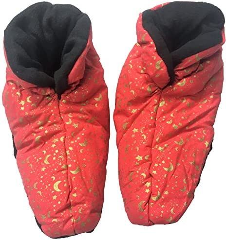 Nature's Approach New Heated Aromatherapy Booties, Celestial Indigo