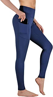 High Waist Yoga Pants with Pockets Tummy Control Workout Pants for Womens 4 Way Stretch Leggings