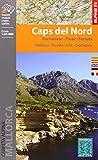 Caps del Nord. 2 mapas.  Formentor, Pinar, Ferrutx, mapa excursionista. Escala 1:25.000. Español, Català, English, Français, Deutsch. Alpina Editorial. (CARPETA ALPINA - 1/25.000)