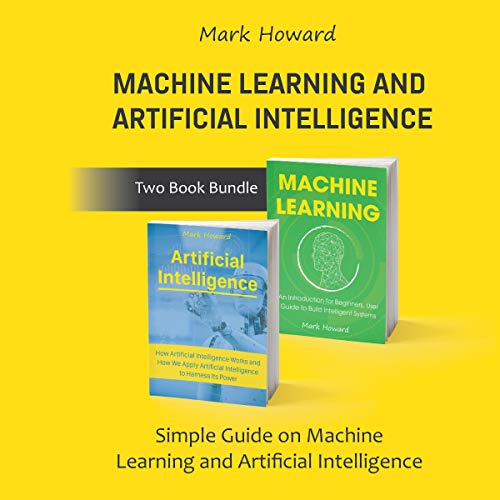 Machine Learning and Artificial Intelligence, Two-Book Bundle audiobook cover art