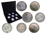 IMPACTO COLECCIONABLES Colección España, 5 Pesetas de Plata. 7 Auténticos Duros de Plata