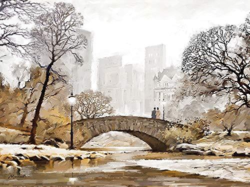 thames View -canvas Print 60 x 80cm Wood - Thames Art Group Richard Macneil