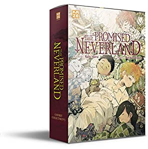 The Promised Neverland Coffret Roman 3 & Tome 20 One-shot