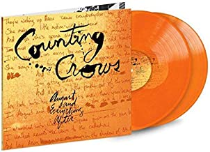 Counting Crows - August and Everything After LIMITED EDITION Translucent Orange Vinyl 180-gram 2X LP Vinyl